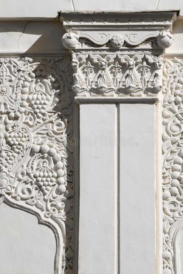 arkitektonisk östlig fragmentstil royaltyfria bilder