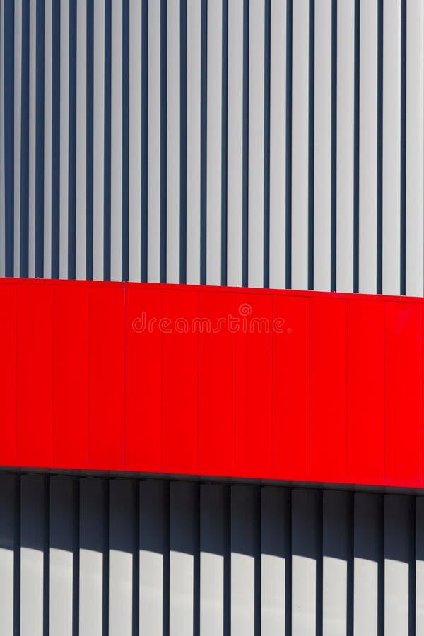 Arkitektonisk abstraktion i form av vertikala band royaltyfri bild