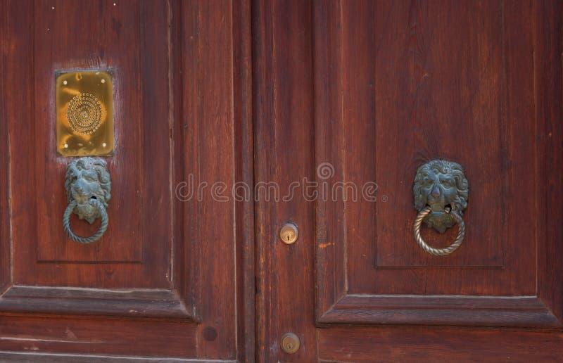 Arkitektonisk detalj av det traditionella huset i Venedig, Italien arkivbild