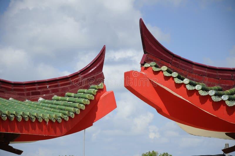 Arkitektonisk detalj av Masjid Jubli Perak Sultan Ismail Petra a K A Masjid Peking royaltyfria foton