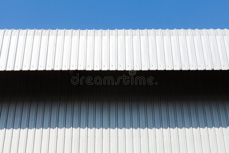 Arkitektonisk detalj av metallarket royaltyfri bild