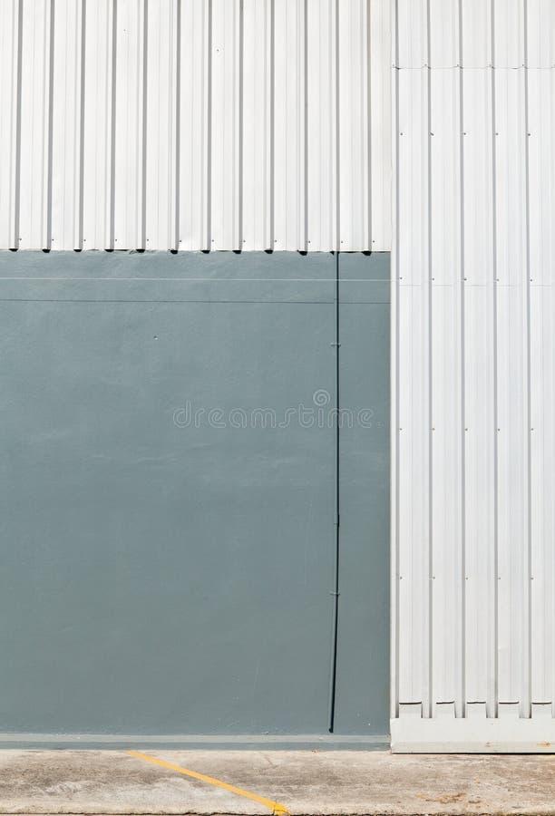 Arkitektonisk detalj av metallarket royaltyfria bilder