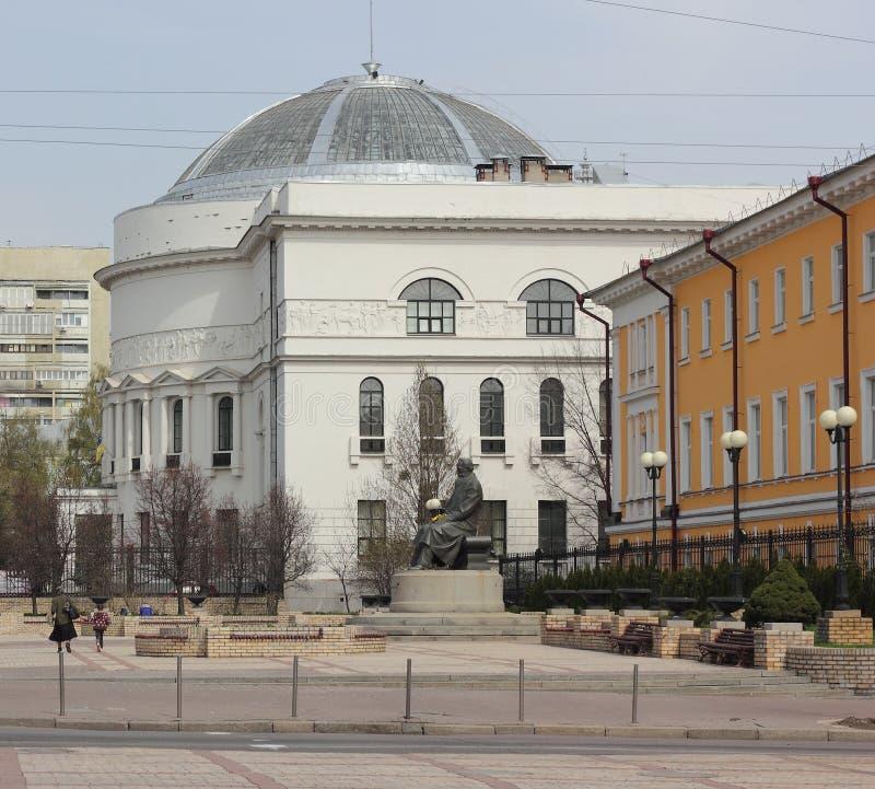 Arkitektonisk monument i centret royaltyfria bilder