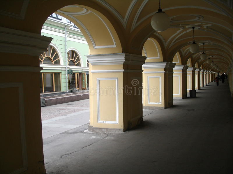 Arkitektonisk sammansättning i Ryssland arkivfoton