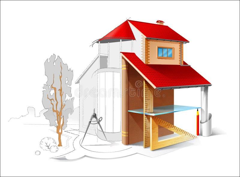 arkitektonisk teckning