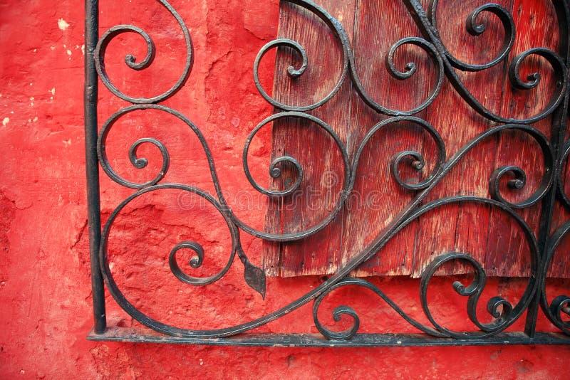 arkitektoniska arequipa färgrika detaljer peru royaltyfri foto