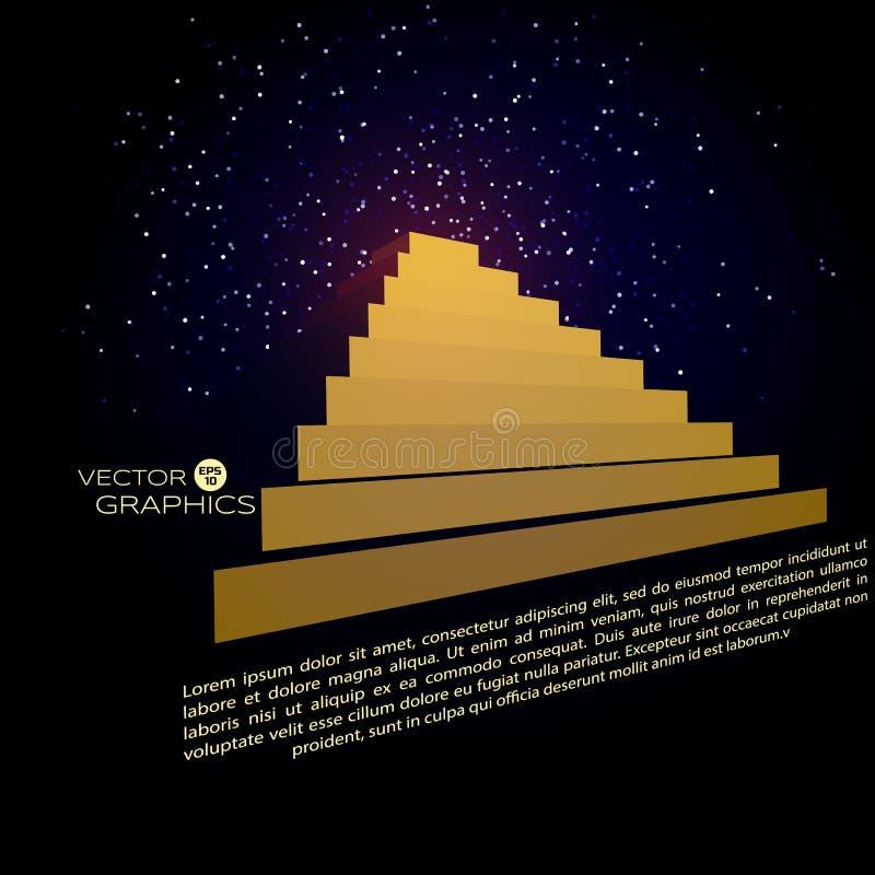 arkitektoniskt objekt 3d royaltyfri illustrationer