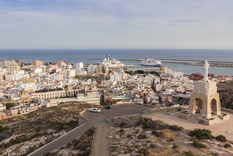 Arkitektur av Almeria royaltyfri fotografi