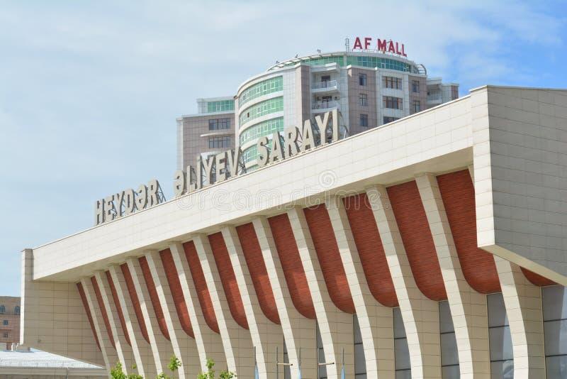 Arkitektur av Baku, Heydar Aliyev Palace royaltyfria foton