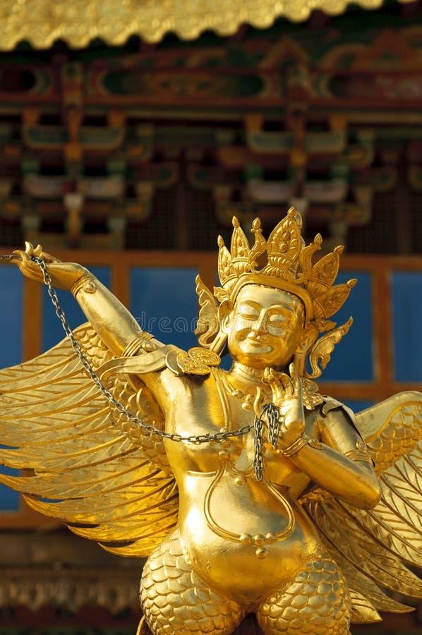 Arkitektur av den tibetana kloster för songzanlin royaltyfri bild