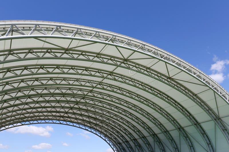 Arkitektur av en plast- kupol royaltyfri bild