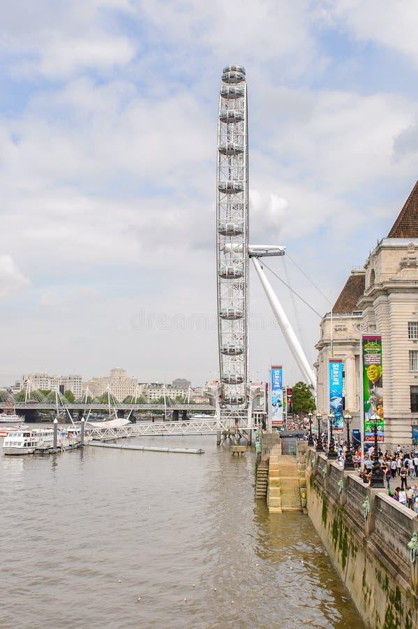 Arkitektur av London, England, UK royaltyfria bilder