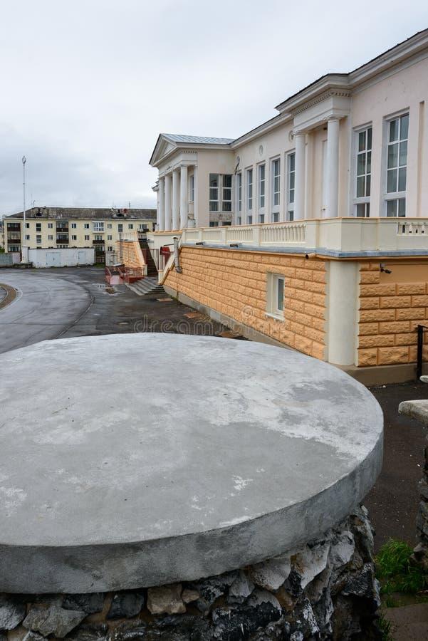 Arkitektur av Magada, rysk federation arkivfoton