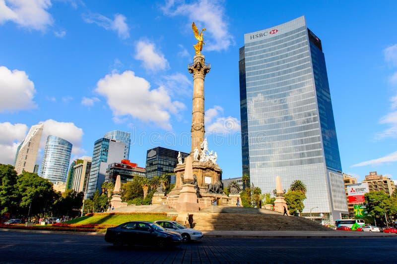 Arkitektur av Mexico DF arkivfoton
