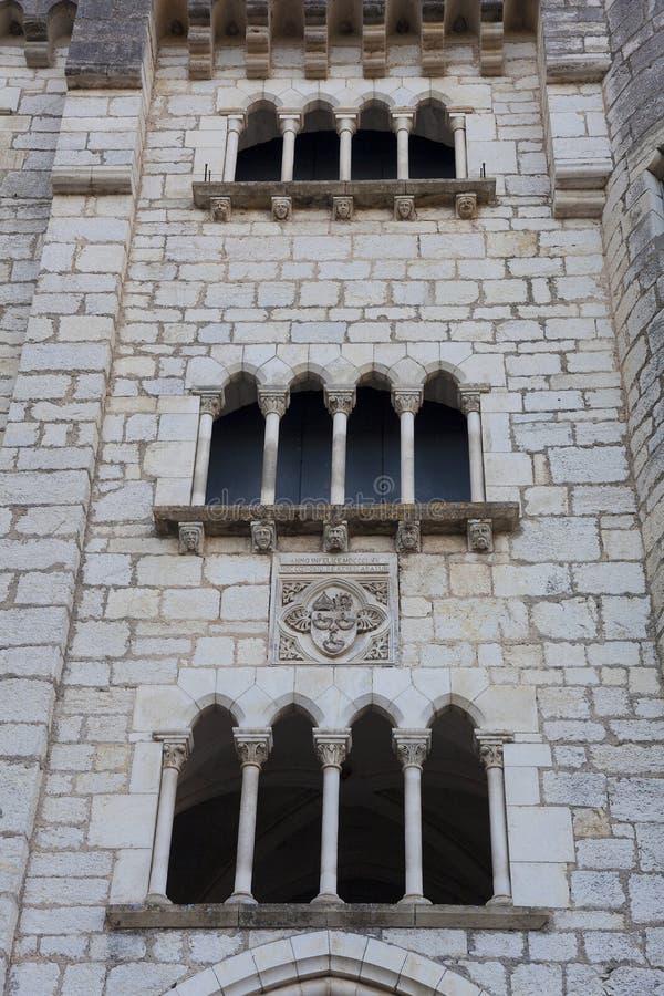 Arkitektur av Rocamadour royaltyfri fotografi
