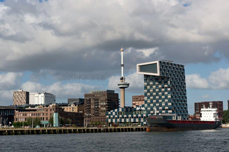 Arkitektur av Rotterdam arkivbilder
