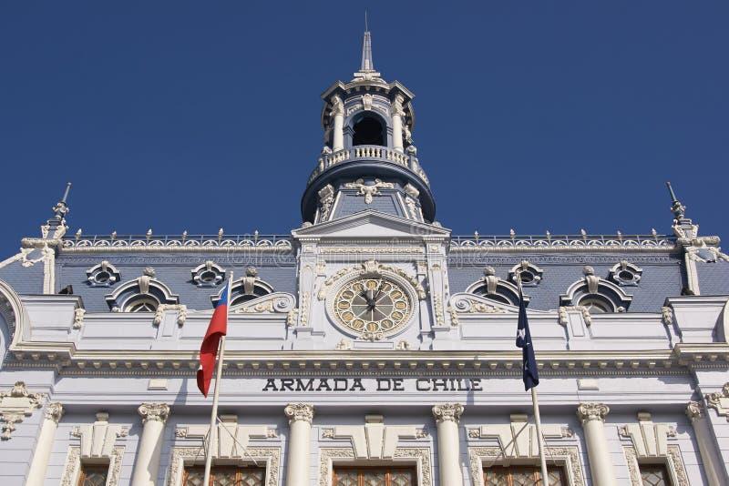 Arkitektur av Valparaiso royaltyfri foto