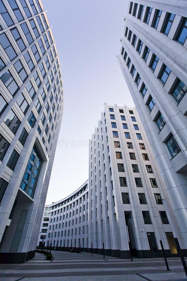 Arkitektur för Moskvastadskontor royaltyfri foto