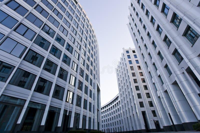 Arkitektur för Moskvastadskontor arkivfoto