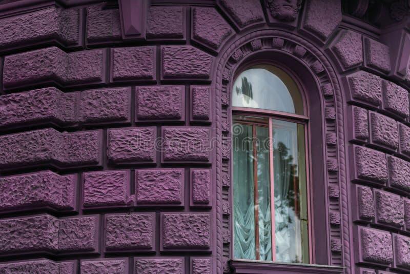 Arkitektur för prinsessa för slott för sagaslottfönster magisk royaltyfria foton