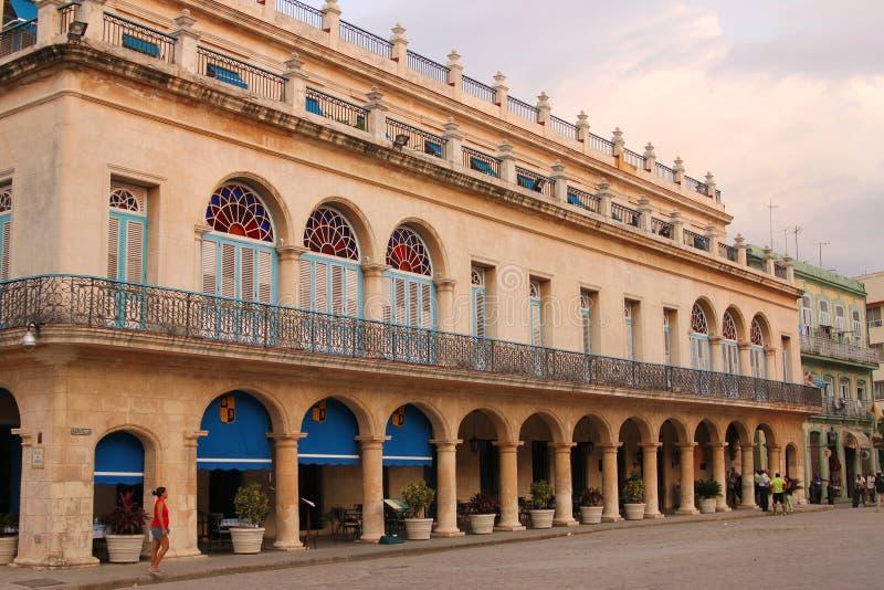 Arkitektur i den gamla havannacigarren, Kuba arkivfoton
