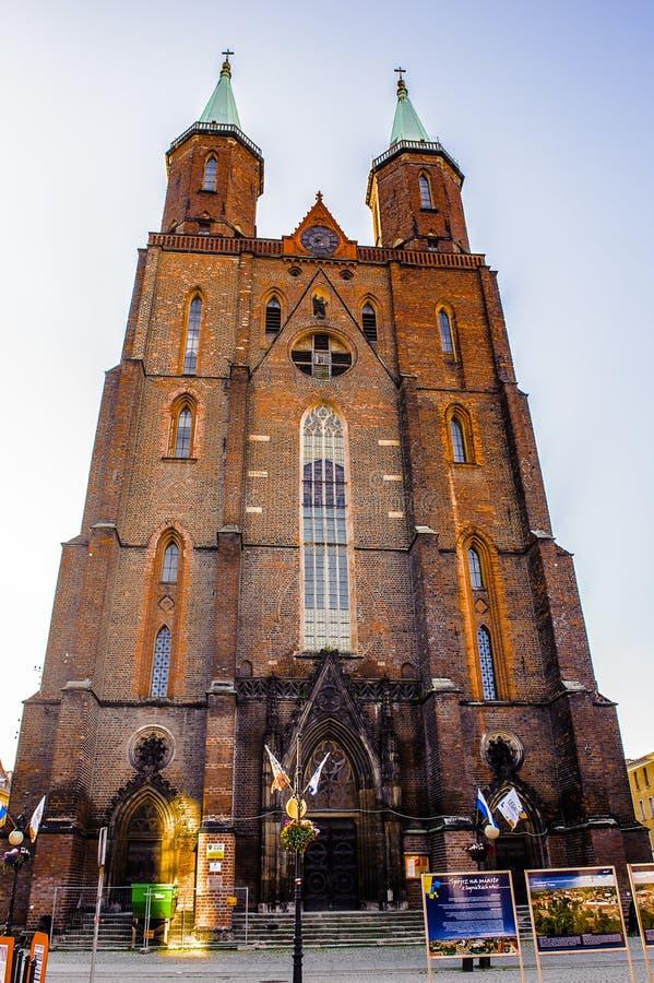 Arkitektur i Legnica poland fotografering för bildbyråer