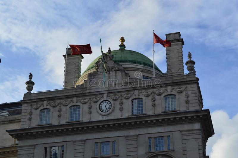 Arkitektur i London royaltyfria bilder