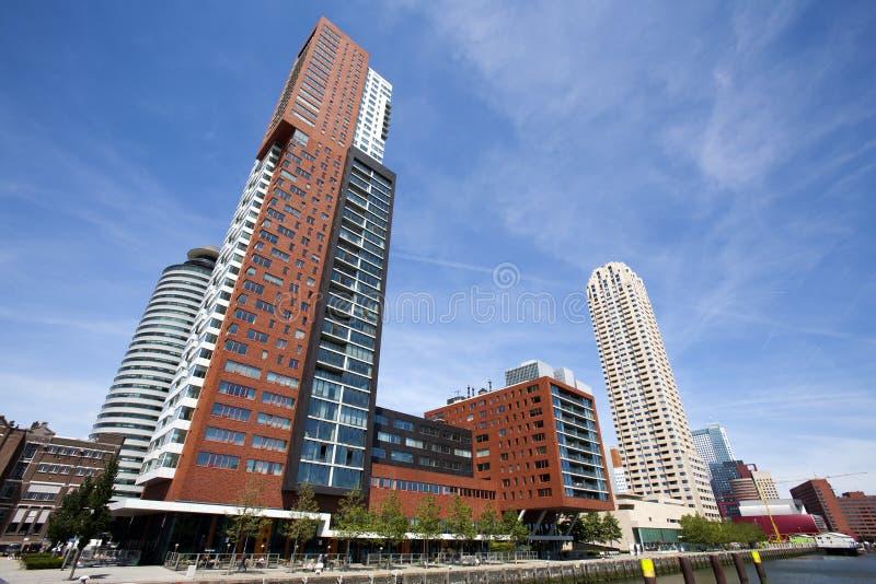 Arkitektur i Rotterdam royaltyfri foto