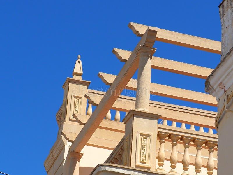 Arkitektur i Vila Real De Santo Antonio Portugal fotografering för bildbyråer