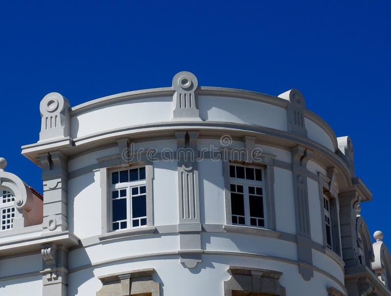 Arkitektur i Vila Real De Santo Antonio Portugal royaltyfri fotografi