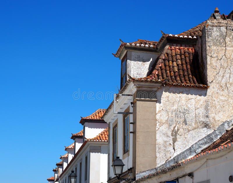 Arkitektur i Vila Real De Santo Antonio Portugal royaltyfria bilder