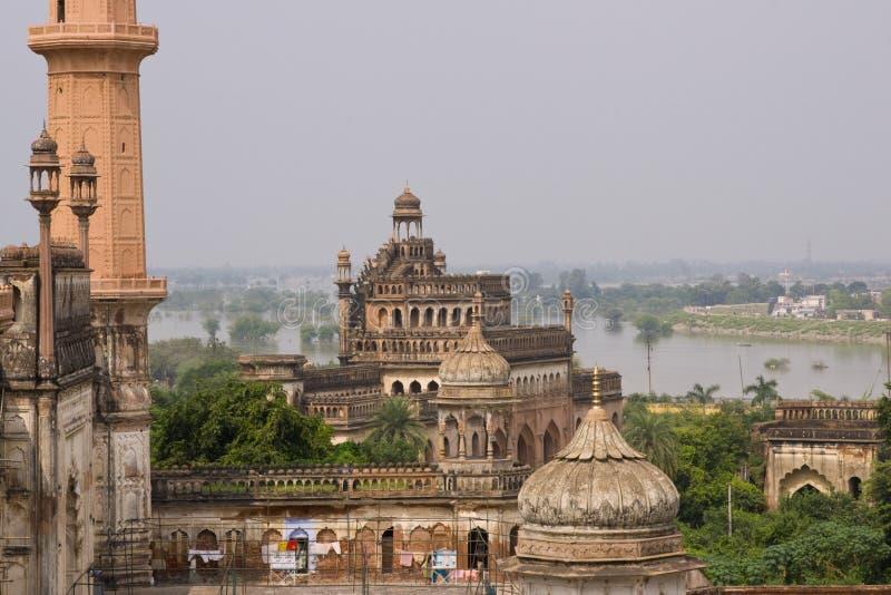 arkitektur india lucknow royaltyfria bilder