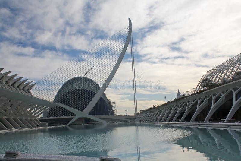 Arkitektur som drömmer, stad av konstadn-vetenskaper royaltyfria bilder