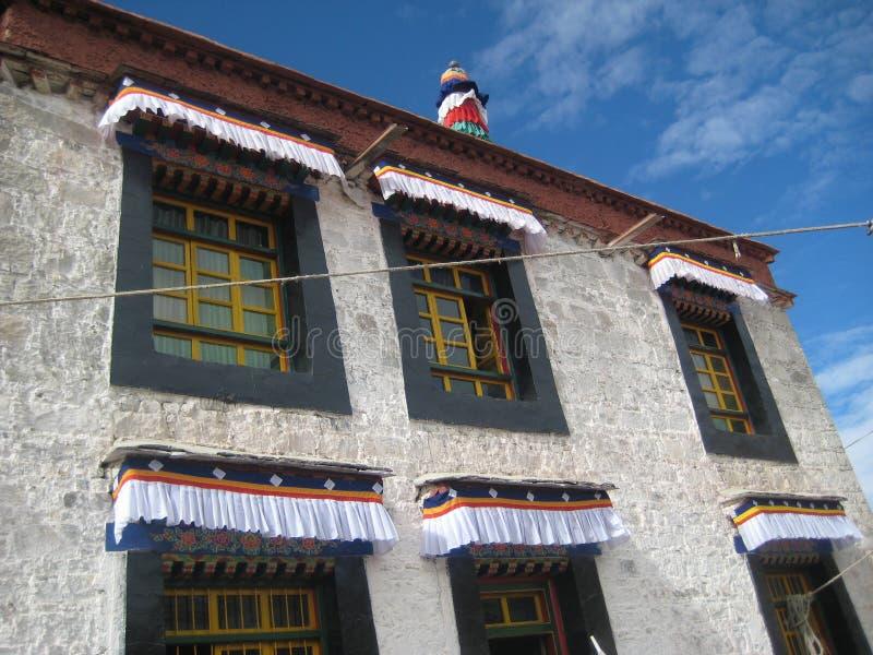 arkitektur tibet royaltyfria foton
