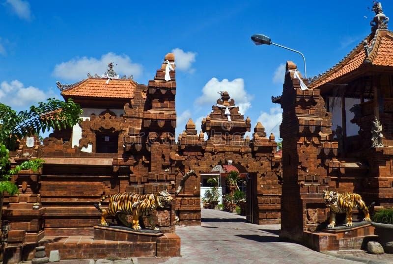 arkitektur traditionella bali royaltyfria foton