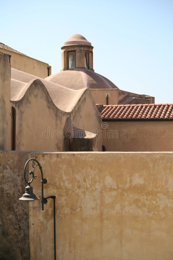 arkitektur traditionella sardinia arkivfoto