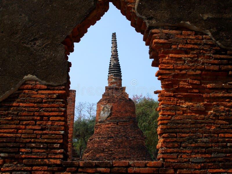 Download Arkitekturayuthaya fotografering för bildbyråer. Bild av askfat - 512247