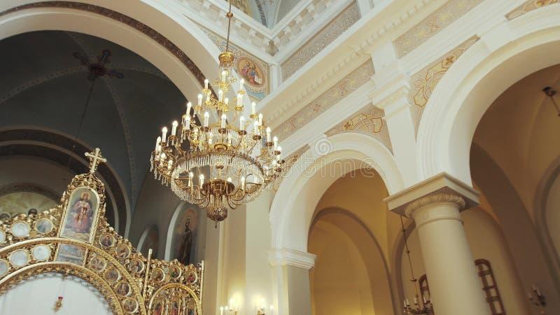 Arkitekturkyrka i Ukraina Lviv arkivbild