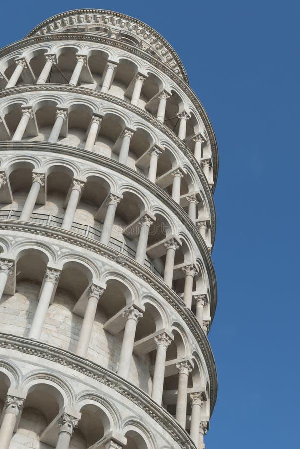 Stå hög av Pisa, Italien royaltyfri fotografi