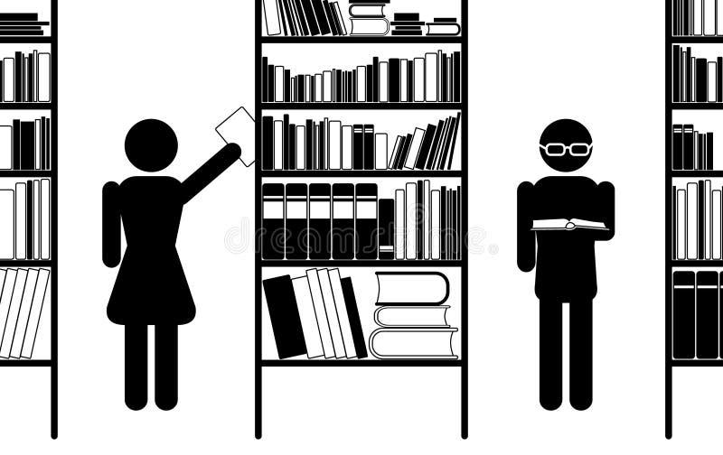 arkiv stock illustrationer