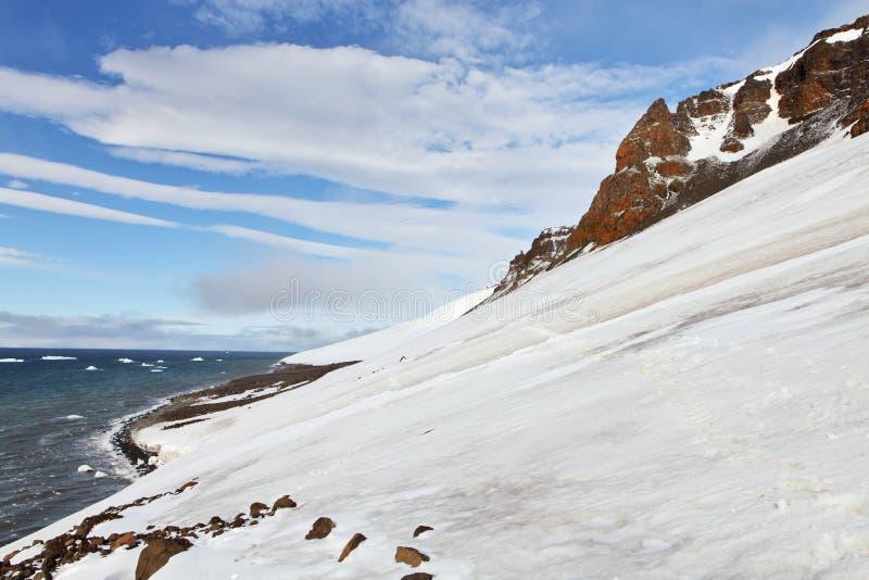Arktische Felsen lizenzfreie stockfotos
