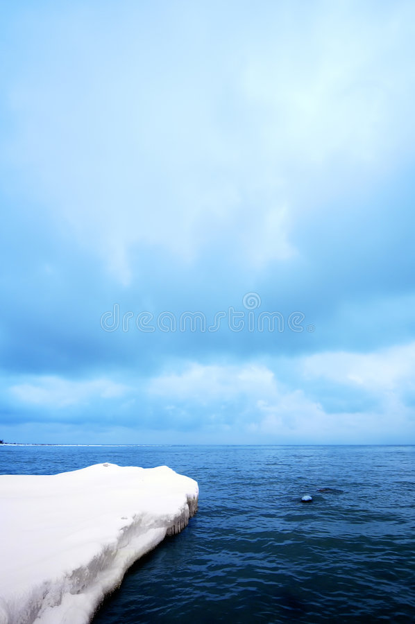 Arktische Insel lizenzfreies stockbild