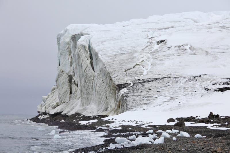 arktisk glaciär royaltyfri bild