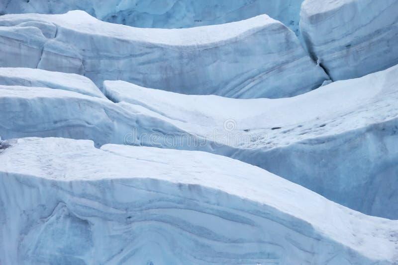 Arktisk glaciär arkivfoton