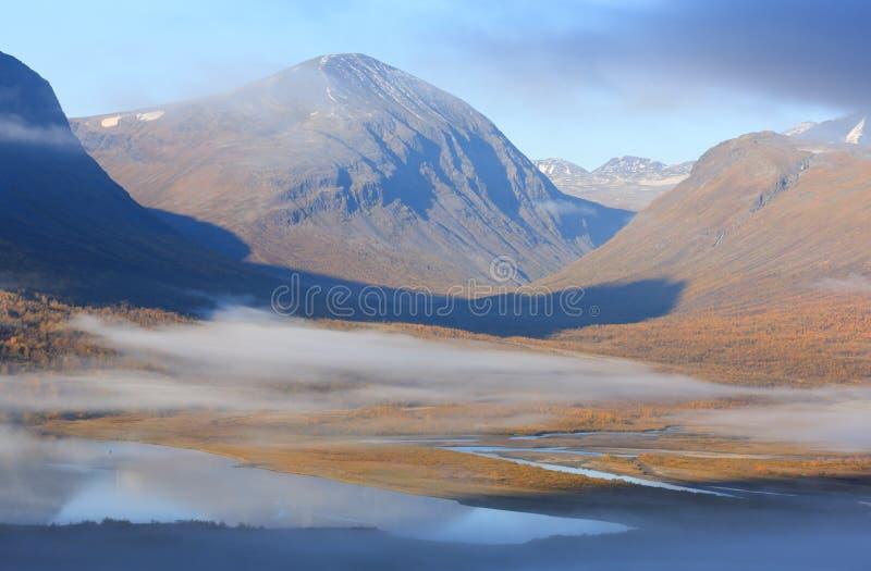 Arktisk höst arkivbild