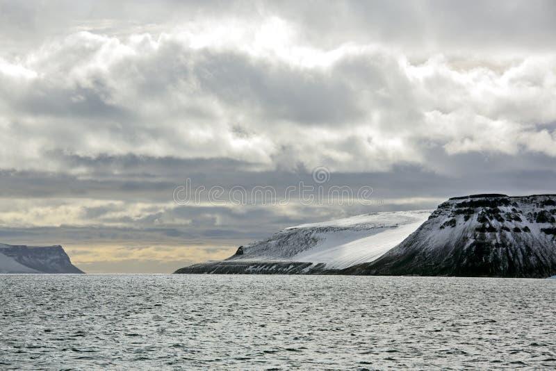 Arktiska öar royaltyfria bilder