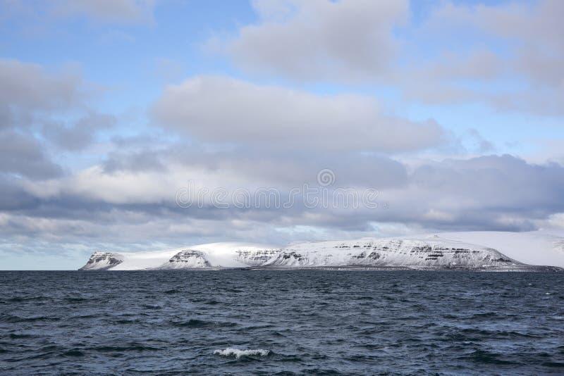 Arktiska öar arkivbild