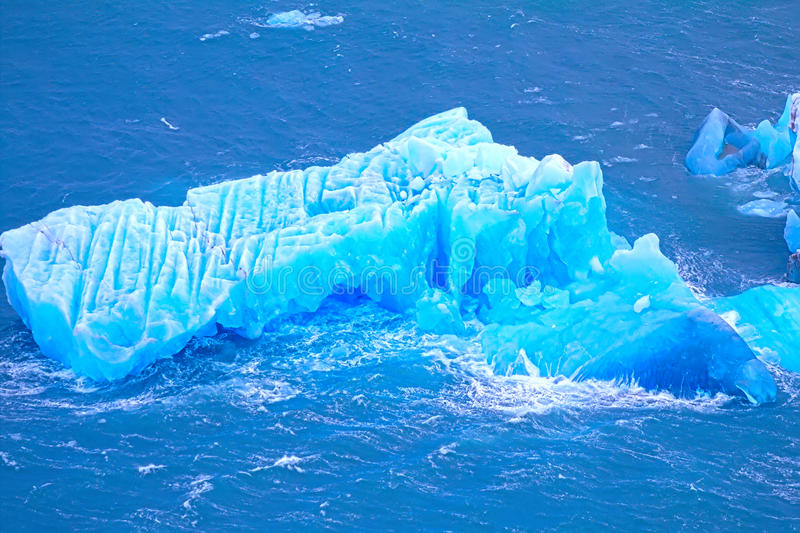 arktiskt isberg ismateriel område Novaya Zemlya royaltyfria foton