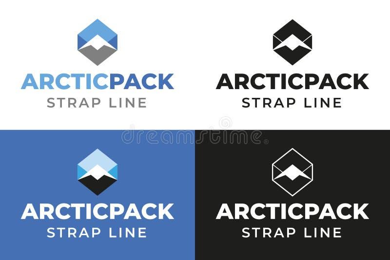 Arktyczna paczka obrazy stock