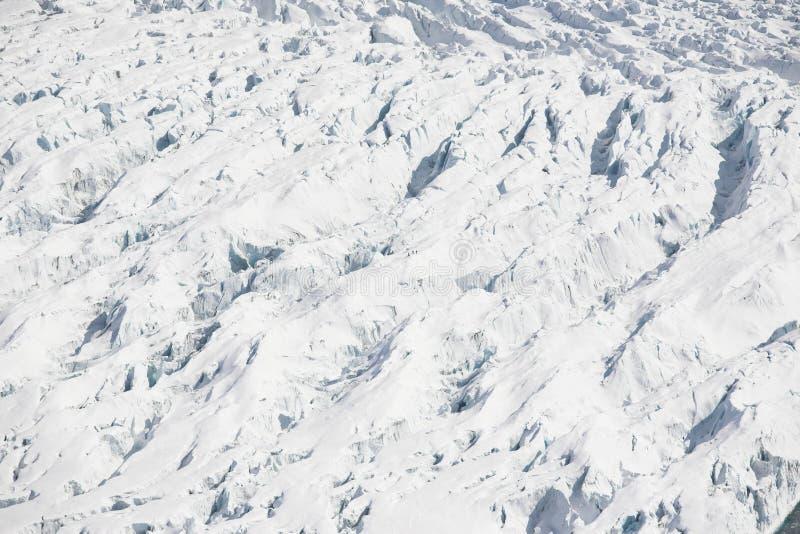 arktyczni duży crevasses zgłębiają lodowa krajobraz obrazy stock